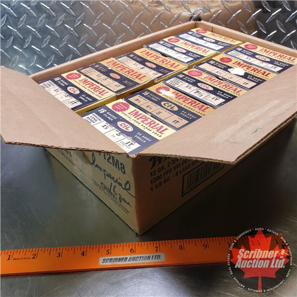 """AMMO: Vintage CIL Imperial 16ga 2-3/4"""" (10 Boxes of 25 = 250 Total)"""