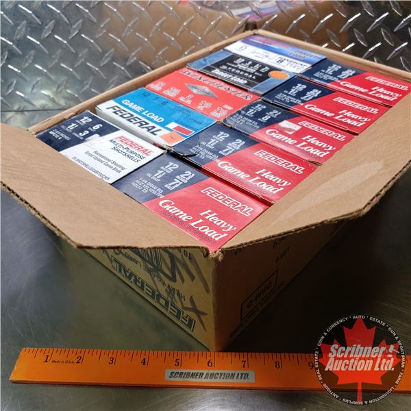 """AMMO: Variety Case 12ga 2-3/4"""" (10 Boxes of 25 = 250 Total)"""