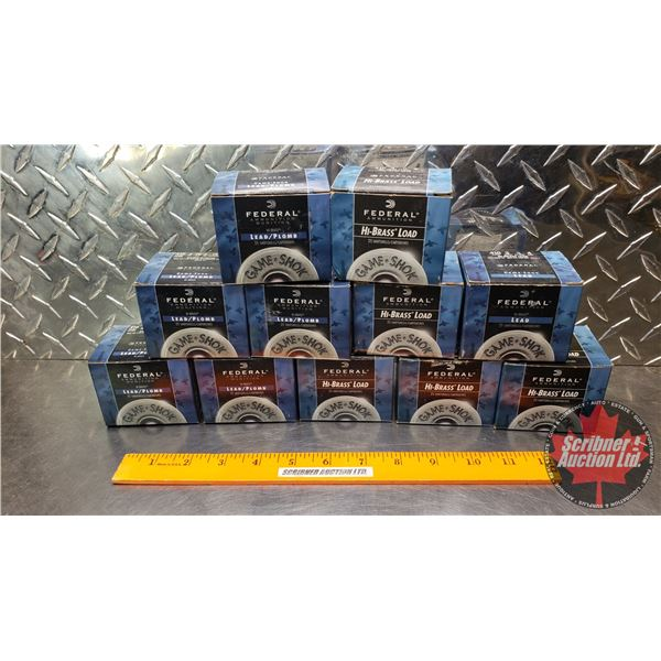 """AMMO: Federal .410ga 3"""" (11 Boxes of 25 = 225 Total)"""