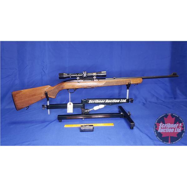 RIFLE: Winchester 100 Semi-Auto 308 Win (S/N#A210046) w/Scope & 2 Clips