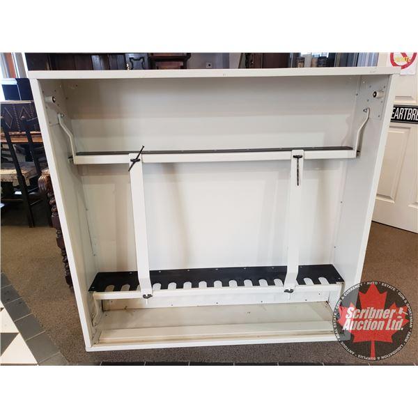 """Weapons Cabinet - 15 Gun Capacity (Metal) (48""""H x 50""""L x 12""""D)"""
