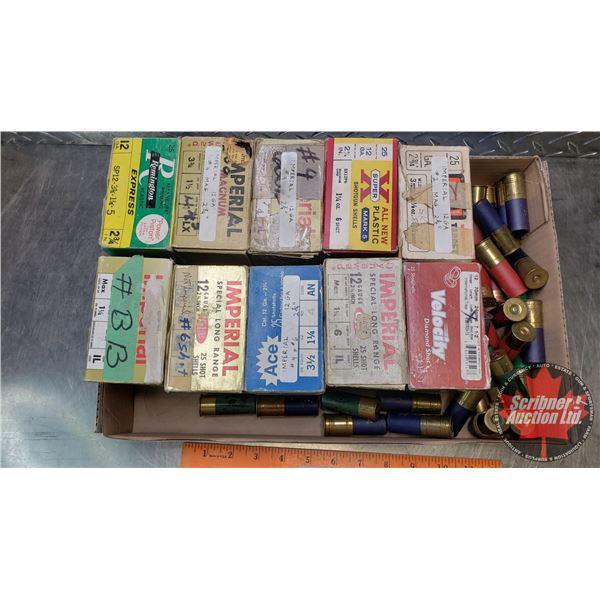 "AMMO: Tray Lot: Variety (12ga 2-3/4"") (280 Total)"
