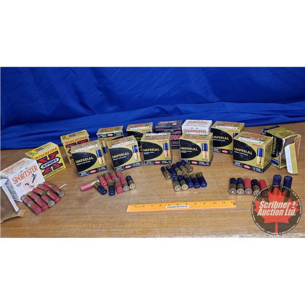 """AMMO: Variety of 12ga 2-3/4"""" (362 Total)"""