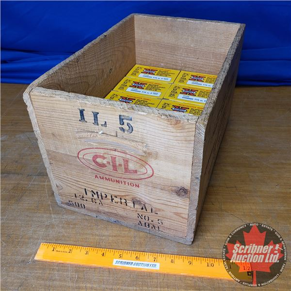 "AMMO: Box Lot: Winchester Western Xpert Superfield Load 12ga 2-3/4"" (1-1/8oz : 6 Plomb Shot) (10 Box"