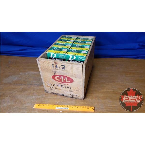 "AMMO: Vintage Bulk Lot - Remington Express 12ga 2-3/4"" (5 Shot) (18 Boxes of 25 = 450 Total) with Vi"