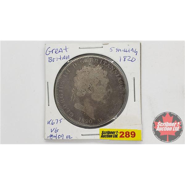 Great Britain 1820 Shilling