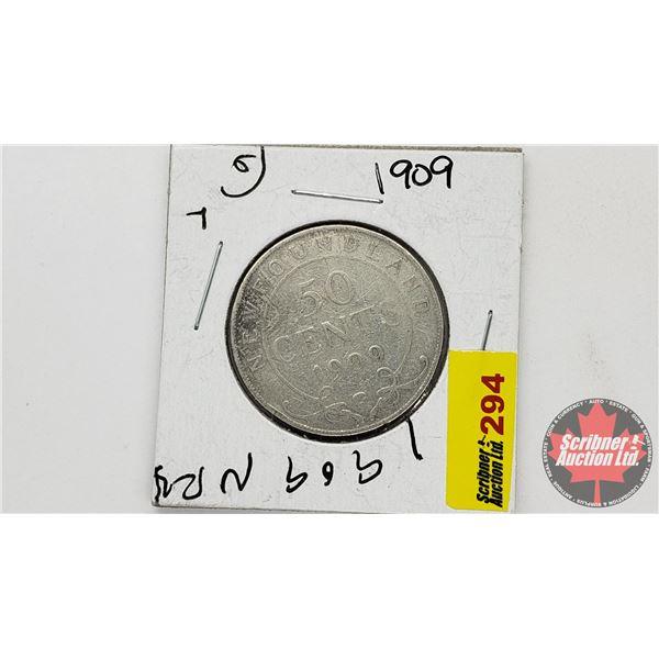 Newfoundland Fifty Cent: 1909