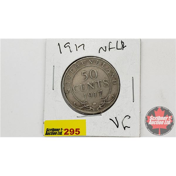 Newfoundland Fifty Cent: 1917