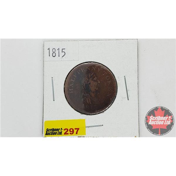 Success to Navigation & Trade Half Penny Token 1815