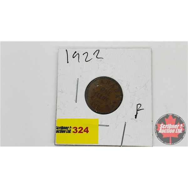 Canada One Cent 1922