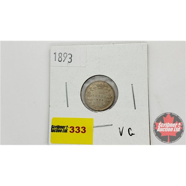 Canada Five Cent 1893