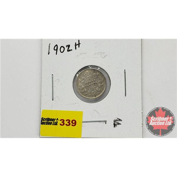 Canada Five Cent 1902H