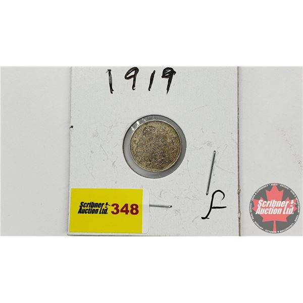 Canada Five Cent 1919