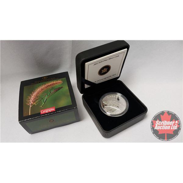 RCM 2012 Fine Silver $10 Coin : The Praying Mantis (99.99%) (COA 6559/7500)