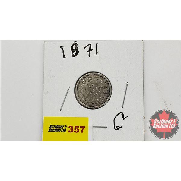 Canada Ten Cent 1871