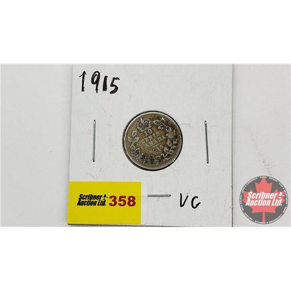 Canada Ten Cent 1915