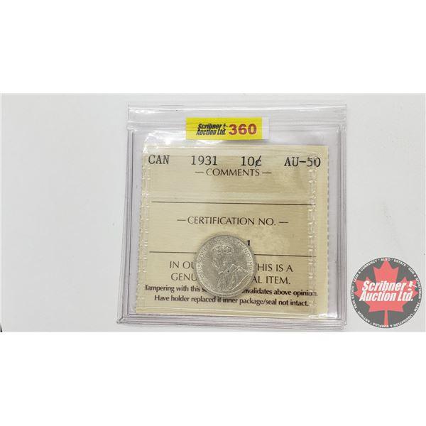Canada Ten Cent 1931