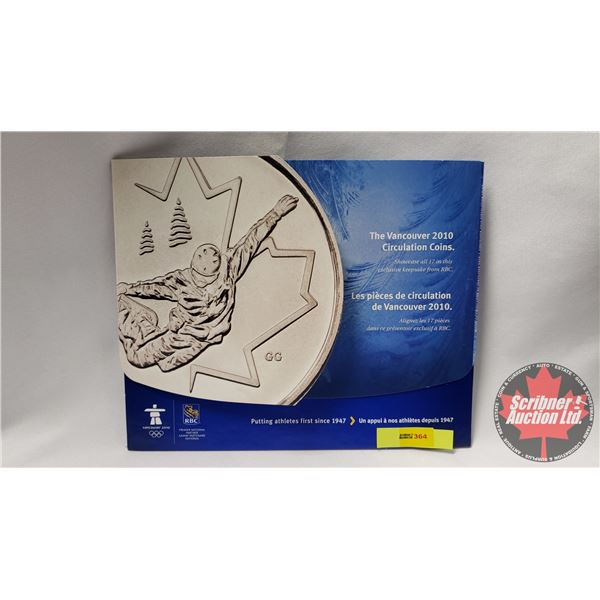 RCM The Vancouver 2010 Circulation Coins in Collector Card