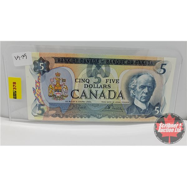 Canada $5 Bill 1979 Crow/Bouey #30576086626 (See Pics for Signatures/Serial Numbers)