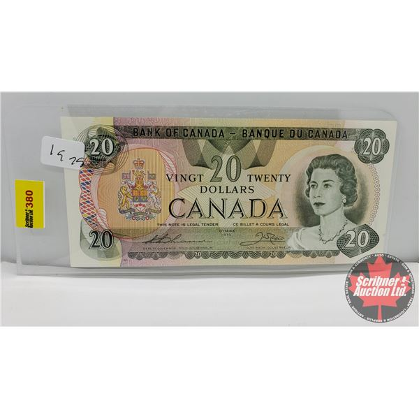 Canada $20 Bill 1979 Thiessen/Crow #56759658777 (See Pics for Signatures/Serial Numbers)