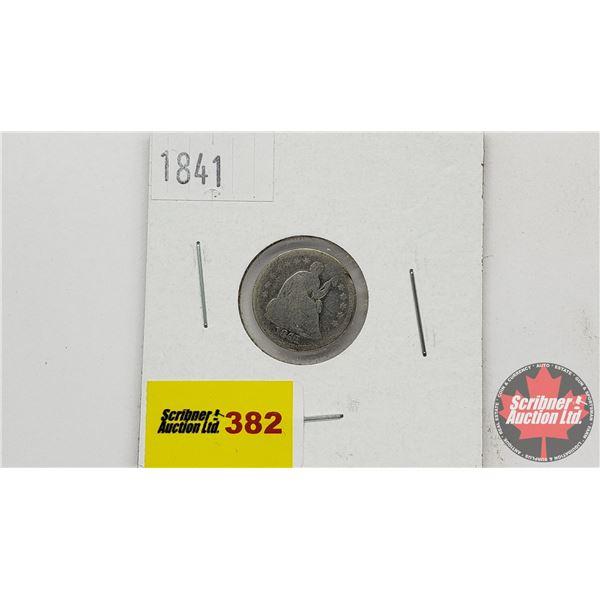 USA Half Dime 1841