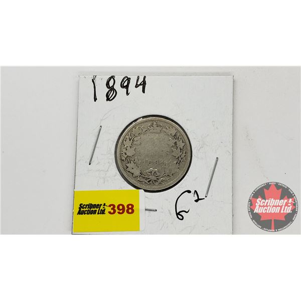 Canada Twenty Five Cent 1894