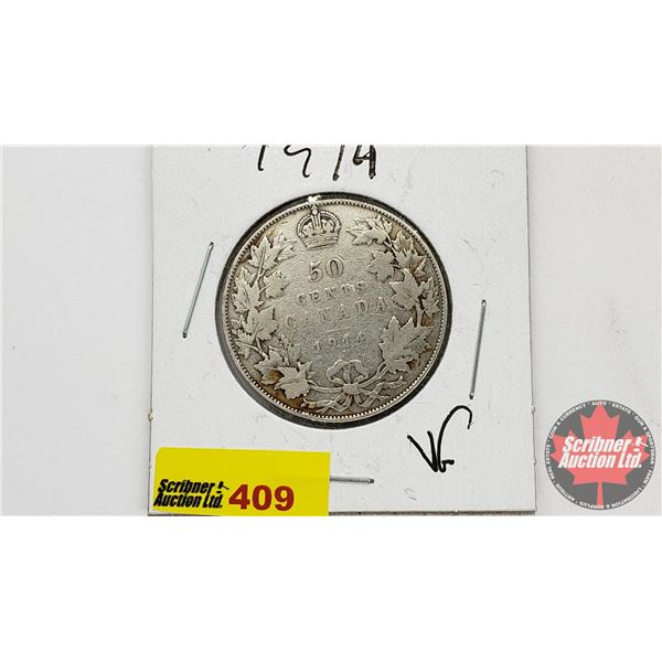 Canada Fifty Cent 1914