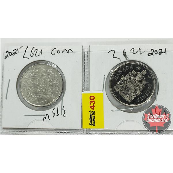 Canada Fifty Cent (2): 2021; 2021