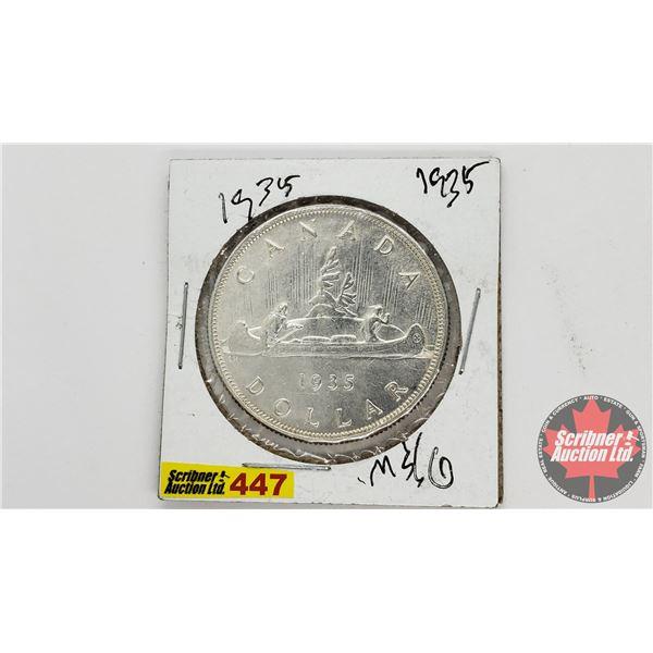 Canada Silver Dollar 1935