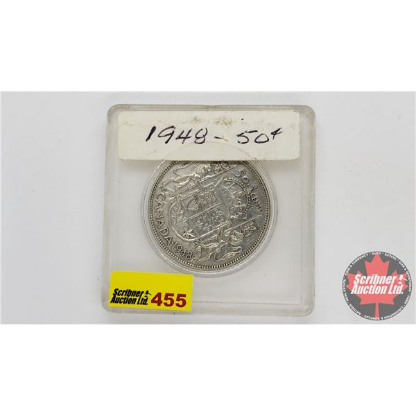 Canada Fifty Cent 1948