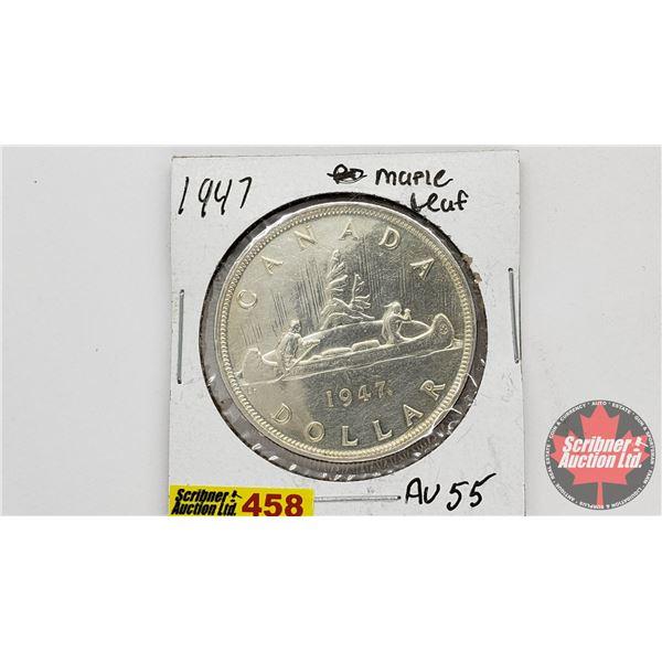 Canada Silver Dollar 1947ML