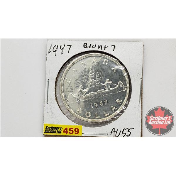 Canada Silver Dollar 1947 BL7