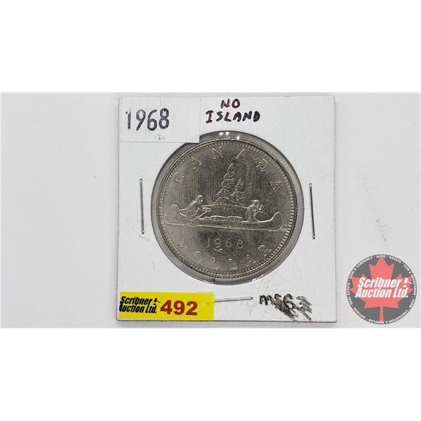 Canada Silver Dollar 1968