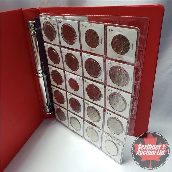 Canada One Dollar Coins (22): 1968; 1969; 1970; 1971; 1972; 1973; 1974; 1975; 1976; 1977; 1978; 1979