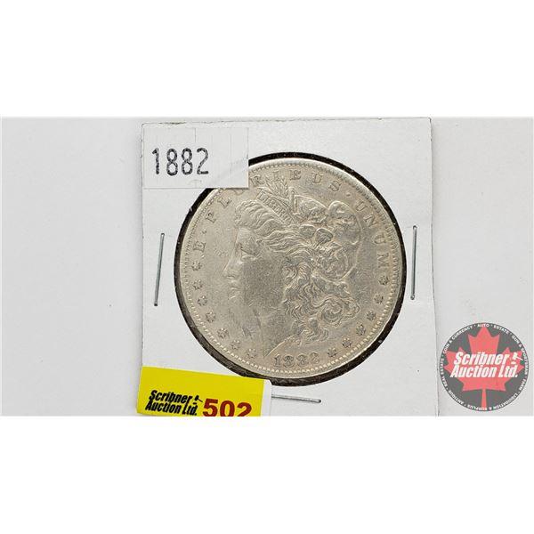 USA Morgan Dollar 1882