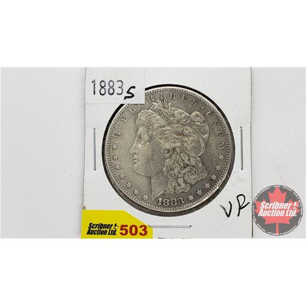 USA Morgan Dollar 1883S