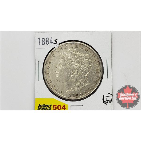 USA Morgan Dollar 1884S