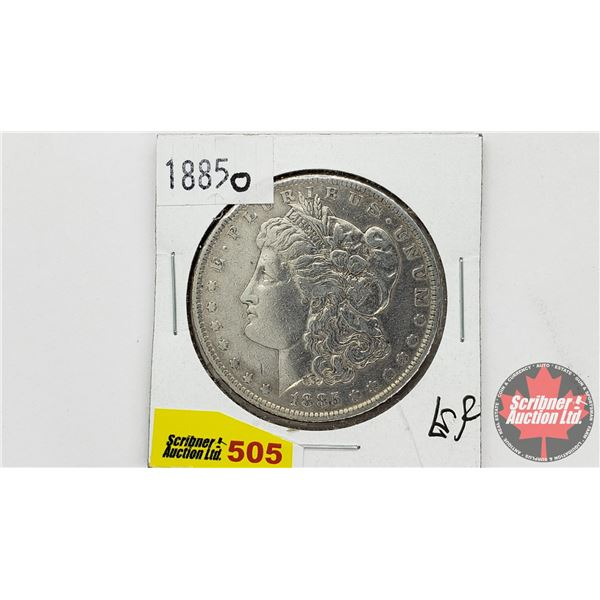USA Morgan Dollar 1885O