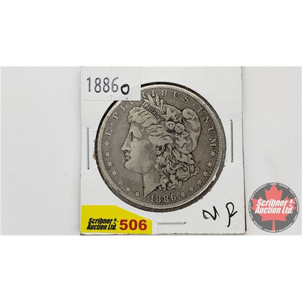 USA Morgan Dollar 1886O