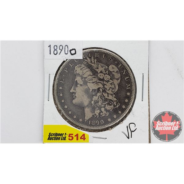 USA Morgan Dollar 1890O