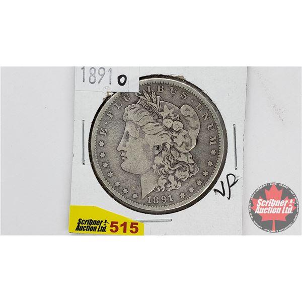 USA Morgan Dollar 1891O