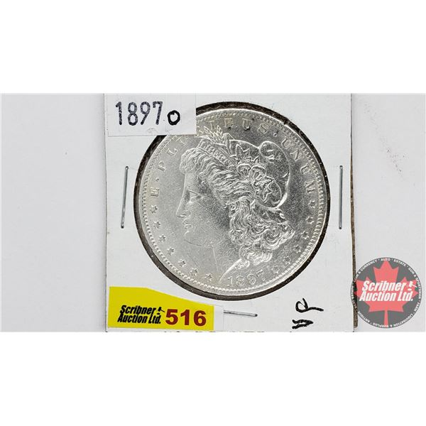 USA Morgan Dollar 1897O