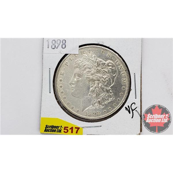 USA Morgan Dollar 1898