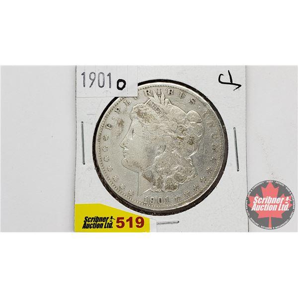 USA Morgan Dollar 1901O