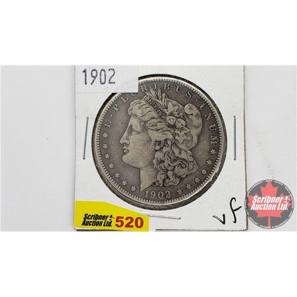 USA Morgan Dollar 1902