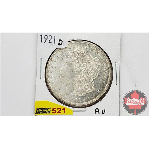 USA Morgan Dollar 1921D