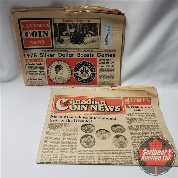 1978 & 1981 Canadian Coin Newspapers