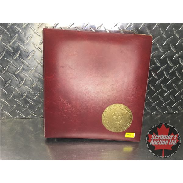 Foreign Currency Collection - Binder Lot (See Pics for Signatures/Serial Numbers)