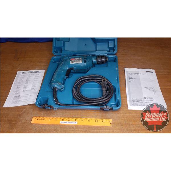 """Makita 3/8"""" Power Drill w/Case"""