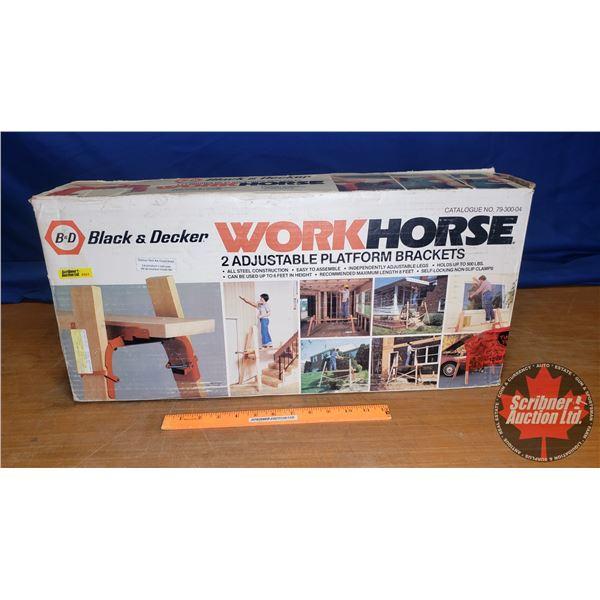 "Black & Decker Work Horse (Never Used) (Box Size: 12""H x 25""W x 5""D)"